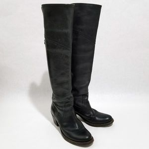 Frye Jane Tall Over The Knee Cuff Boots
